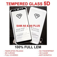 TEMPERED GLASS 5D Samsung A6 - A6 Plus 2018 full screen anti gores TG