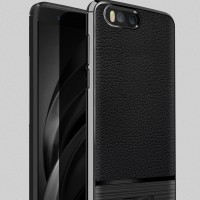 LEATHER ARMOR case Xiaomi Mi6 Mi 6 softcase casing hp cover tpu kulit