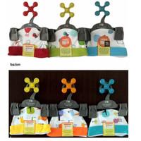 Topi Bulat Velvet Junior size Newborn