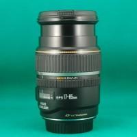 Lensa Zoom Canon EFS 17-85 Mm F 4-5.6 IS USM Kondisi Bagus