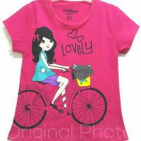 Kaos Anak Sepeda Girl Fanta 1-6 | Kaos Anak Perempuan Murah
