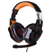Harga kotion each g2000 over ear game gaming headphone headset with mic   Hargalu.com