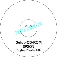 CD Driver Printer Epson Stylus Photo T60