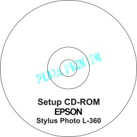 CD Driver Printer Epson Stylus Photo L360