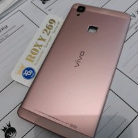 Tutup Casing Hp Vivo V3 Rose Gold Pink Backdoor Back Door Vivo V3 Ori