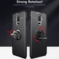SAMSUNG GALAXY J8 2018 Invisible Iring 360 Soft Case Auto Focus