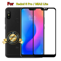 XIAOMI Redmi 6 Pro / MIA2 LITE Anti Gores Tempered Glass Full Layar Hp