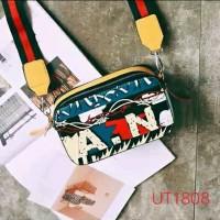 UT1808 - 1809 tas import MJ A.N selempang tenteng sling bag batam