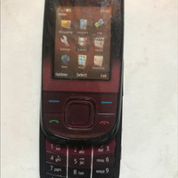 Dummy Hp Nokia 3600 Slide Sliding Brown Wine Red Jadul Dami