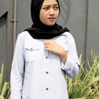 Harga jeanny shirt baju fashion wanita berbahan adem dan | antitipu.com