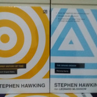Paket 2 Buku A Brief History Of Time & Grand Design Stephen Hawking