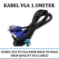 Kabel VGA 1.5meter (Original Resmi)