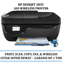 Printer Wireless HP DeskJet Ink Advantage 3835 All-in-One Printer +Fax