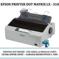Printer Epson LX-310 - 9 Pin Dot Matrix Printer Original Resmi