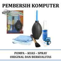 Pembersih Komputer - Computer Cleaning Kit - dengan Pompa, Kuas &Spray