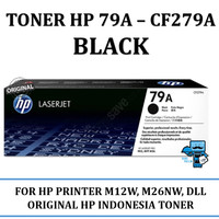 Toner HP Original 79A-CF279A Black for M12w,M26nw,dll