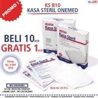 Kasa Steril 16x16cm OneMed box isi10