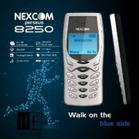 Hendfhone Nexcom Persius 8250 Dual Sim Mirip Hp Jadul
