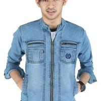 Produk Bagus jaket jeans levis pria biru terbaru distro original rndz