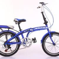 Sepeda lipat anak & dewasa TREX-XT7 20 inch