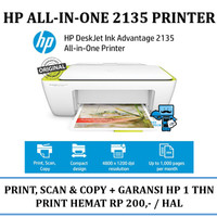 Printer HP Deskjet Ink Advantage 2135 All-in-One Printer