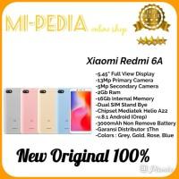 Xiaomi Redmi 6A Ram 2Gb Internal 16Gb Garansi Distributor 1Thn