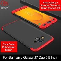 Calandiva Premium Front Back Samsung Galaxy J7 Duo 2018 (5.5 Inch) +TG