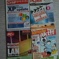 Majalah komputer bekas PC Media, Chip, PC Plus