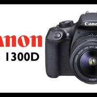(Harga Terbaik) Canon Eos 1300D + Lensa 18-55 Iii Wifi U002F Kamera