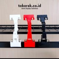 JEPITAN PRICE TAG LABEL HARGA HOLDER ROBOT TEKUK 18CM