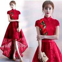 Dress Mermaid Lili Cheongsam Red