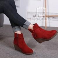 Jual Sepatu EMORY Wanita Boots Laduree EMO711 Murah