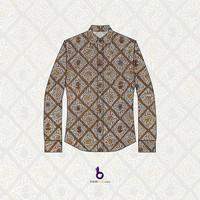 HM1324 Kain Batik Tulis Solo Babaran Jawa