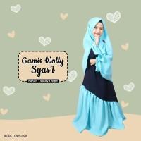 Gamis Wolly Syari GWS 020 Paku Payung