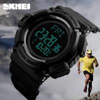 SKMEI Pedometer 1339 Sport Original Jam Tangan Olahraga Anti Air 50M
