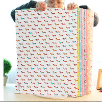 flaminggo animal cover paper kertas kado import