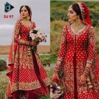 Bridal Lehenga DJ 97/Gaun Pengantin India/Wedding Dress Import