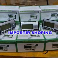 Spy Camera Jam Meja Digital + Remote / Kamera Pengintai Jam Meja HD