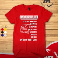 Kaos T-shirt Mobil L300 Driver Muda Punya Cerita Murah