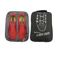 Tas Sepatu Travel Bag Tas Olahraga Fitness Gym Shoes Bag Organizer L