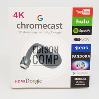 HDMI Dongle Chromecast Miracast 4K HD Wifi Display Video/TV Streaming