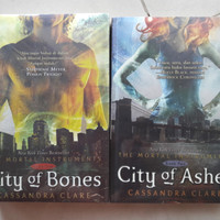 NEW Novel Set City of Bones - Ash2es Cassandra Clare (Original)