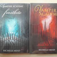 Paket Novel Vampire Academy - Frostbite Richelle Mead Original B.Indo