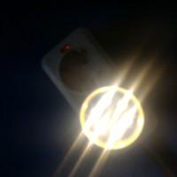 Lampu LED 3 watt kuning warna tembus