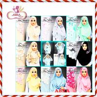 Kerudung Zoya / Khimar Segiempat Instan / Hijab Syari - JAS