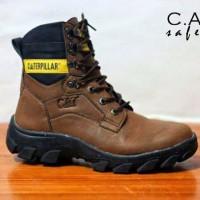 sepatu boot pria keren caterpillar pajero tracking hiking naik gunung