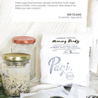 Overnight Oats Mix / Oat Dried Fruits Seeds Almond and Chia Seeds Mix