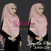 Jual Hijab Kerudung Jilbab Instan khimar shakira saqilla pearl mutiara jumb Murah