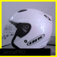 Helm ink centro putih