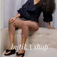 Harga sandal wedges wanita megumi cherry butika | Pembandingharga.com